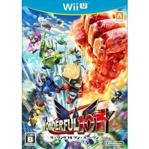 『中古即納』{WiiU}The Wonderful 101(ザ・ワンダフル・ワン・オー・ワン)(20130824)|media-world