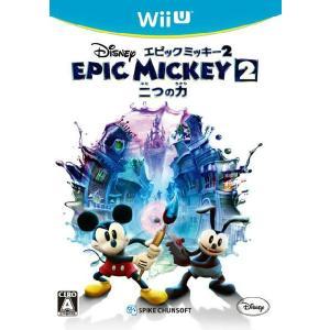 『新品即納』{WiiU}ディズニー エピックミッキー2:二つの力(20130926)|media-world
