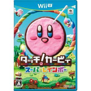 『中古即納』{WiiU}タッチ!カービィ スーパーレインボー(20150122)|media-world