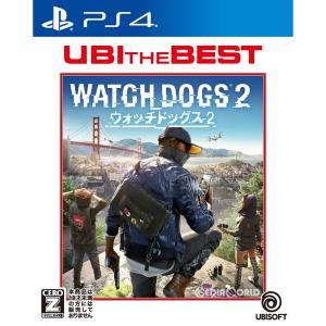 『中古即納』{PS4}ユービーアイ・ザ・ベスト ウォッチドッグス2(Watch Dogs 2)(PLJM-16175)(20180405)|media-world