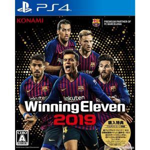 『新品即納』{PS4}購入特典付 ウイニングイレブン 2019(Winning Eleven 2019)(20180830)|media-world