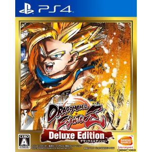 『中古即納』{PS4}ドラゴンボール ファイターズ デラックスエディション(DRAGON BALL FighterZ Deluxe Edition)(20190131)|media-world