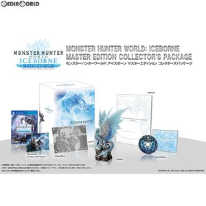 『予約前日出荷』{PS4}モンスターハンターワールド:アイスボーン(MONSTER HUNTER WORLD: ICEBORNE/MHW:I) マスターエディション コレクターズパッケージ(限定版)|media-world
