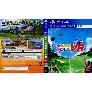 『中古即納』{PS4}(本体同梱ソフト単品)みんなのGOLF VR(みんなのゴルフ VR)(PSVR専用)(PCJB-28006)(20190607)|media-world