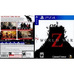 『中古即納』{PS4}World War Z(ワールド・ウォーZ)(北米版)(2105035)(20190416) media-world