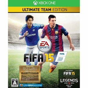 『中古即納』{XboxOne}FIFA 15 ULTIMATE TEAM EDITION 限定版(20141009)|media-world