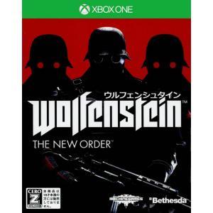 『中古即納』{XboxOne}ウルフェンシュタイン: ザ ニューオーダー(Wolfenstein: The New Order)(20140904)|media-world