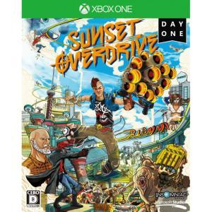 『中古即納』{XboxOne}Sunset Overdrive(サンセット オーバードライブ) DayOneエディション(限定版)(20141030)|media-world