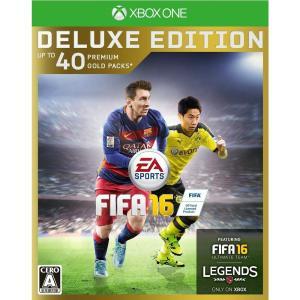 『中古即納』{XboxOne}FIFA 16 DELUXE EDITION(デラックスエディション 限定版)(20151008)|media-world