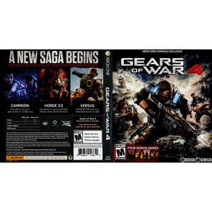 『中古即納』{XboxOne}Gears of War 4(ギアーズ・オブ・ウォー4)(北米版)(4V9-00001)(20161011)|media-world