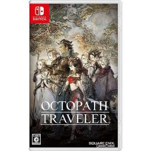 『中古即納』{Switch}オクトパストラベラー(OCTOPATH TRAVELER)(20180713)|media-world