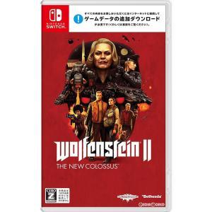 『中古即納』{Switch}Wolfenstein II: The New Colossus(ウルフェンシュタイン 2: ザ ニューコロッサス)(20180726)|media-world