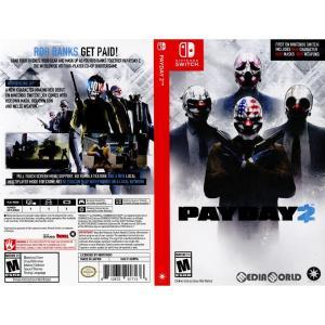 『中古即納』{Switch}PAYDAY 2(ペイデイ2)(北米版)(HAC-P-AD9PA)(20180227) media-world