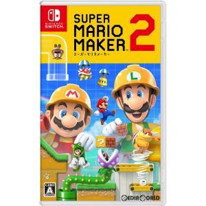 『予約前日出荷』{Switch}早期購入特典付(Nintendo Switch タッチペン SMM2エディション) スーパーマリオメーカー 2(Super Mario Maker 2)(20190628)|media-world