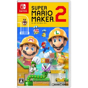 『中古即納』{Switch}スーパーマリオメーカー 2(Super Mario Maker 2)(20190628)|media-world