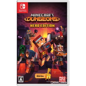 特価⇒『新品即納』{Switch}Minecraft Dungeons Hero Edition(マインクラフト ダンジョンズ ヒーローエディション)(20200908)|media-world
