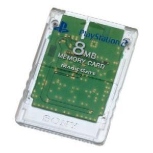 『中古即納』{ACC}{PS2}PlayStation2専用メモリーカード(8MB) クリスタル SC(SCPH-10020C)(20020627) media-world