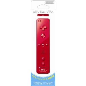 『中古即納』{ACC}{WiiU}Wiiリモコンプラス アカ(Wii/Wii U用) 任天堂(RVL-A-WRRA)(20101111)|media-world