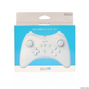 『中古即納』{ACC}{WiiU}Wii U PROコントローラー shiro(Wii U プロコントローラー シロ) 任天堂(WUP-A-RSWA)(20121208)|media-world