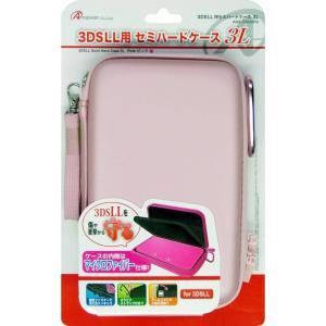 『新品』『O倉庫』{ACC}{3DS}3DSLL用 セミハードケース3L ピンク アンサー(ANS-3D026PK)(20121202)|media-world