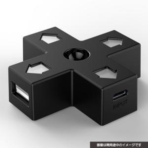 特価⇒『新品即納』{ACC}{PS4}8BITDO DPAD USB HUB サイバーガジェット(CY-8BUSHUB-BK)(20160816)|media-world