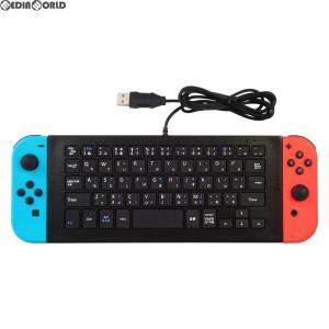 『新品』『O倉庫』{ACC}{Switch}CYBER・USBキーボード(SWITCH用)(スイッチ用) ブラック サイバーガジェット(CY-NSUSKB-BK)(20180622)|media-world