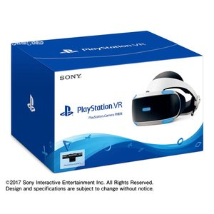 『中古即納』{ACC}{PS4}PlayStation VR PlayStation Camera同梱版(プレイステーションVR/PSVR カメラ同梱版) SIE(CUHJ-16003)(20171014)|media-world