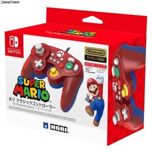 『予約前日出荷』{ACC}{Switch}ホリ クラシックコントローラー for Nintendo Switch(ニンテンドースイッチ) スーパーマリオ HORI(NSW-107)(2018年10月)|media-world