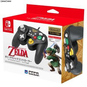 『新品』『お取り寄せ』{ACC}{Switch}ホリ クラシックコントローラー for Nintendo Switch(ニンテンドースイッチ) ゼルダの伝説 HORI(NSW-108)(20181005)|media-world