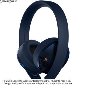 『中古即納』{ACC}{PS4}ワイヤレスサラウンドヘッドセット 500 Million Limited Edition(500ミリオンリミテッドエディション) SIE(CUHJ-15007J1)(20180906)|media-world
