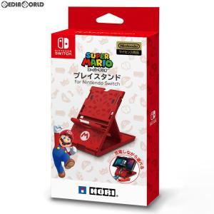 『新品即納』{ACC}{Switch}プレイスタンド for Nintendo Switch(ニンテンドースイッチ) スーパーマリオ HORI(NSW-084)(20190328) media-world