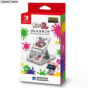 『新品』『お取り寄せ』{ACC}{Switch}プレイスタンド for Nintendo Switch(ニンテンドースイッチ) Splatoon2(スプラトゥーン2) HORI(NSW-125)(20190328)|media-world