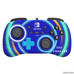 『新品即納』{ACC}{Switch}ホリパッドミニ for Nintendo Switch(ニンテンドースイッチ) サイクロンブルー 任天堂ライセンス商品 HORI(NSW-245)(20200709)|media-world