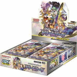 『予約前日出荷』{BOX}{TCG}ポケモンカードゲーム サン&ムーン 強化拡張パック 「ドリームリーグ」(30パック)(20190802)|media-world
