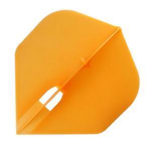 『新品即納』{FDRT}ダーツフライト【フライトエル】スタンダードシャンパンリング対応オレンジ エルスタイル|media-world