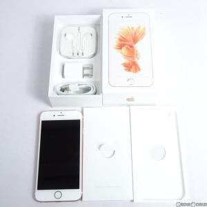『中古即納』iPhone6s 64GB(ローズゴールド) au Apple(アップル)(MKQR2J)|media-world