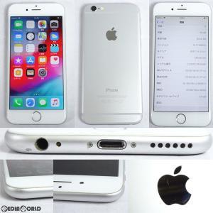 『中古即納』iPhone6 16GB(シルバー) ドコモ(docomo) Apple(アップル)(MG482J)|media-world