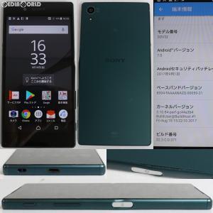 『中古即納』Xperia Z5 SOV32(グリーン) au ソニーモバイル(SOV32MGA)|media-world
