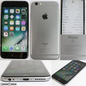 『中古即納』iPhone 6s 64GB(アイフォン 6s 64GB) スペースグレイ ドコモ(docomo) Apple(アップル)(MKQN2J)|media-world