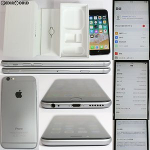 『中古即納』iPhone6 128GB(スペースグレイ) au Apple(アップル)(MG4A2J)|media-world