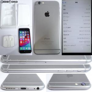 『中古即納』iPhone6 64GB(スペースグレイ) ドコモ(docomo) Apple(アップル)(MG4F2J)|media-world