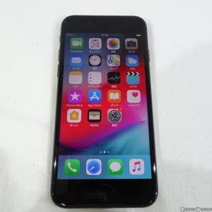 『中古即納』iPhone7 32GB(ブラック) au Apple(アップル)(MNCE2J)|media-world