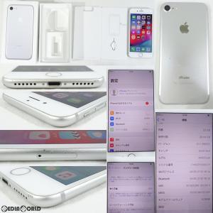 『中古即納』iPhone7 32GB(シルバー) au Apple(アップル)(MNCF2J)|media-world