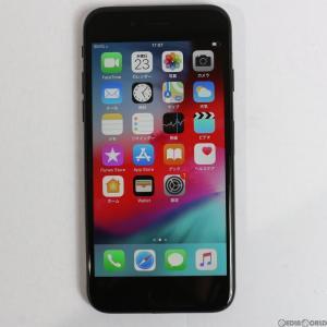 『中古即納』iPhone7 128GB(ジェットブラック) au Apple(アップル)(MNCP2J)|media-world