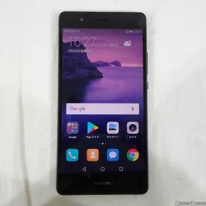 『中古即納』HUAWEI P9 lite SIMフリー(ブラック) その他 Huawei(ファーウェイ)(VNSL22BLACK)|media-world