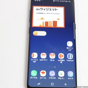 『中古即納』GALAXY S8 SCV36(ミッドナイトブラック) au SAMSUNG(サムスン)(SCV36MKA)|media-world