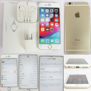 『中古即納』iPhone6 16GB(ゴールド) au Apple(アップル)(MG492J)|media-world