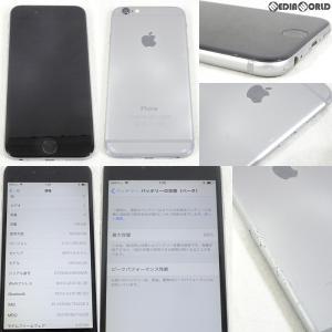 『中古即納』iPhone6 128GB(スペースグレイ) ソフトバンク(SoftBank) Apple(アップル)(MG4A2J)|media-world