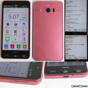 『中古即納』シンプルスマホ3 509SH(ピンク) ソフトバンク(SoftBank) シャープ(SHAGB3)|media-world