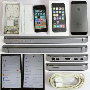 『中古即納』iPhone5s 32GB(スペースグレイ) ドコモ(docomo) Apple(アップル)(ME335J)|media-world